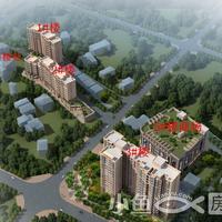 台盛时代广场项目鸟瞰图