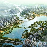紫云台百崎湖规划设计图