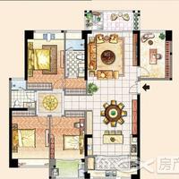 新天城市广场3-3#楼148㎡户型