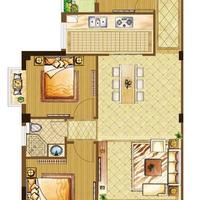 台盛时代广场3#楼C户型