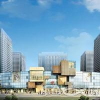 晋江宝龙城市广场正面透视效果图