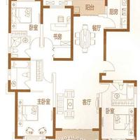 晋江宝龙城市广场2#楼182㎡ 4房2厅3卫(C-1户型)