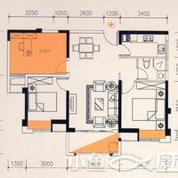 卓辉海港城8#楼02单元2房2厅1卫1阳台