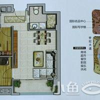晋江宝龙城市广场5#楼6-29层F户型78㎡