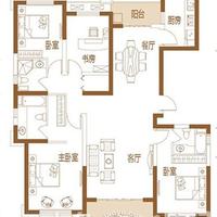 晋江宝龙城市广场2#楼181㎡ 4房2厅3卫(C户型)
