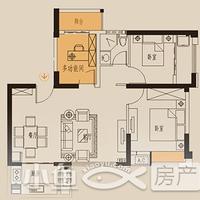 卓辉海港城1#03户型