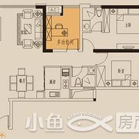 卓辉海港城1#01户型
