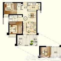 建发珑玥湾A4户型3房2厅2卫