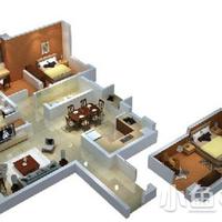 泉商环球广场1#楼 133㎡ 01、05单元A1户型