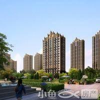 福晟钱隆公馆透视角度中庭2_
